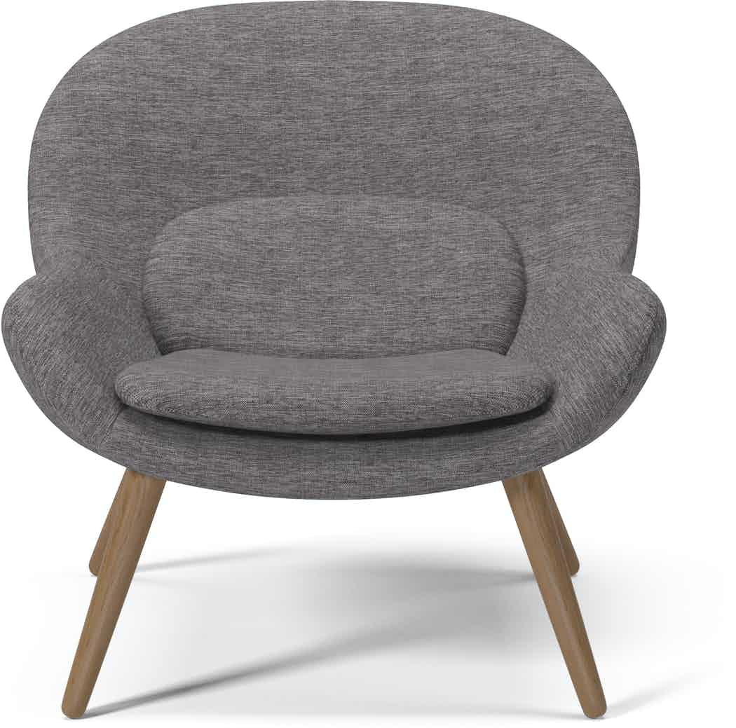 bolia grey philippa armchair haute living