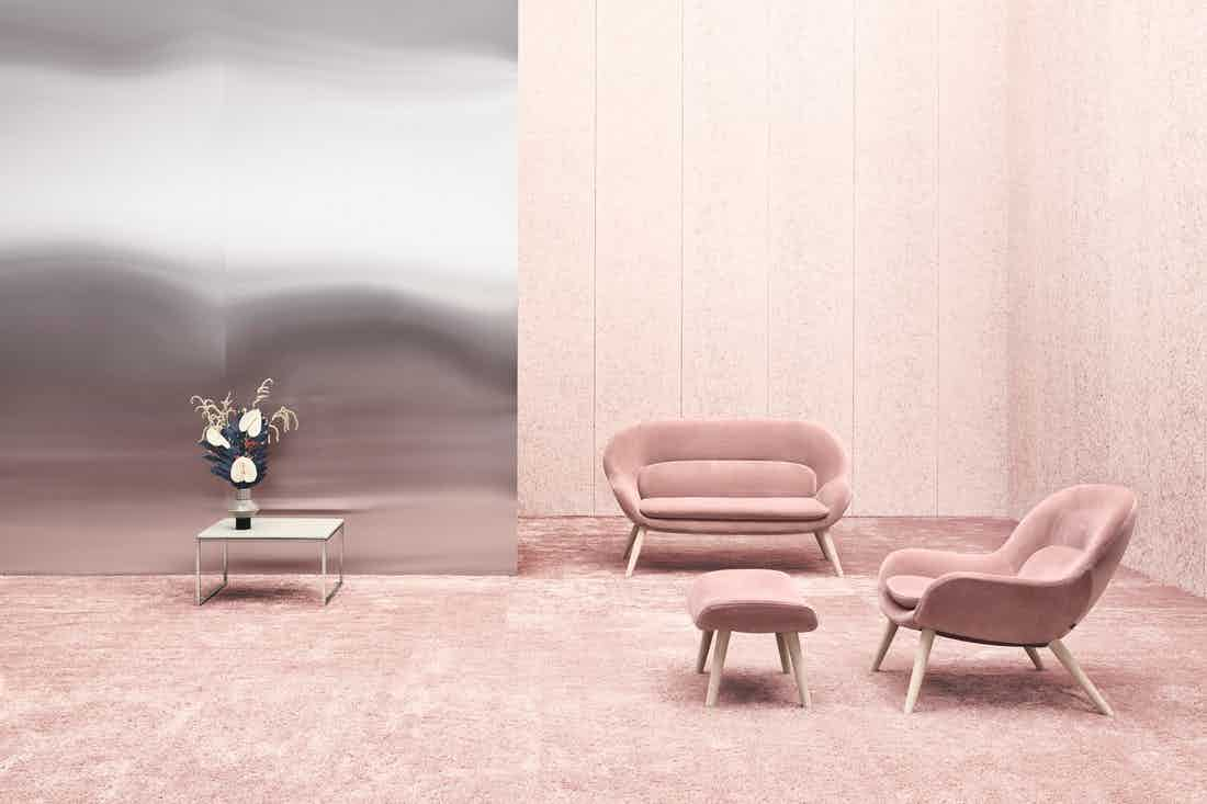 Bolia Pink Philippa Armchair Insitu Haute Living