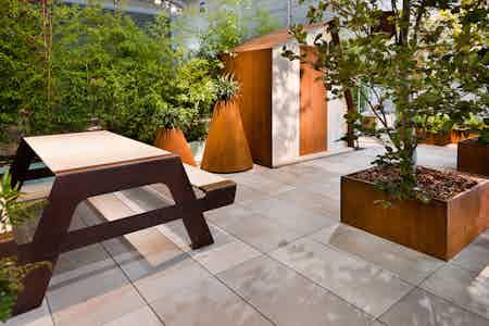De Castelli Pic Nic Table Insitu Haute Living