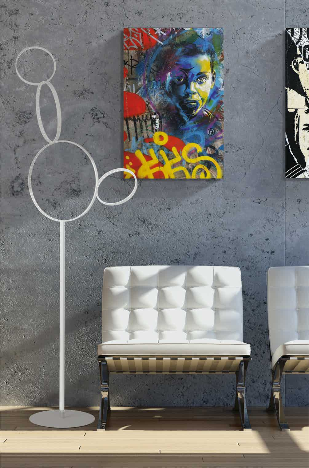 Le-deun-luminaires-pico-5-floor-lamp-painting-haute-living