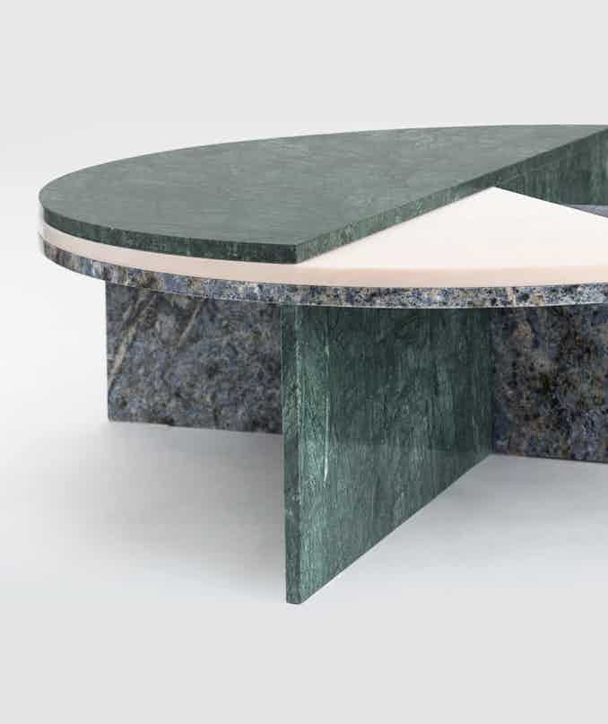 Matter made piece o the pi table base detail haute living