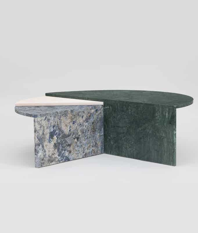 Matter made piece o the pi table inside haute living