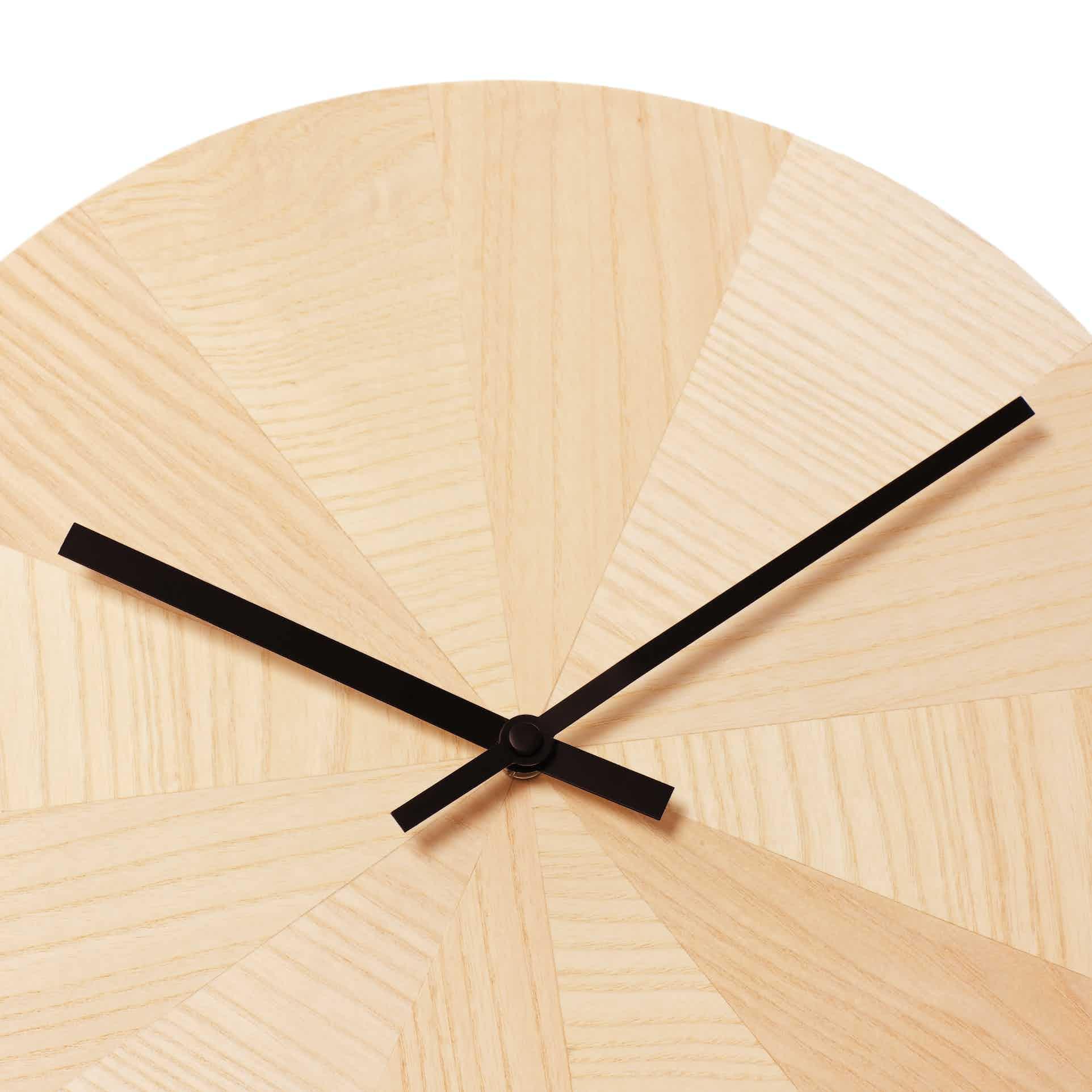 Discipline Pieces Of Time Clock Black Hands Detail