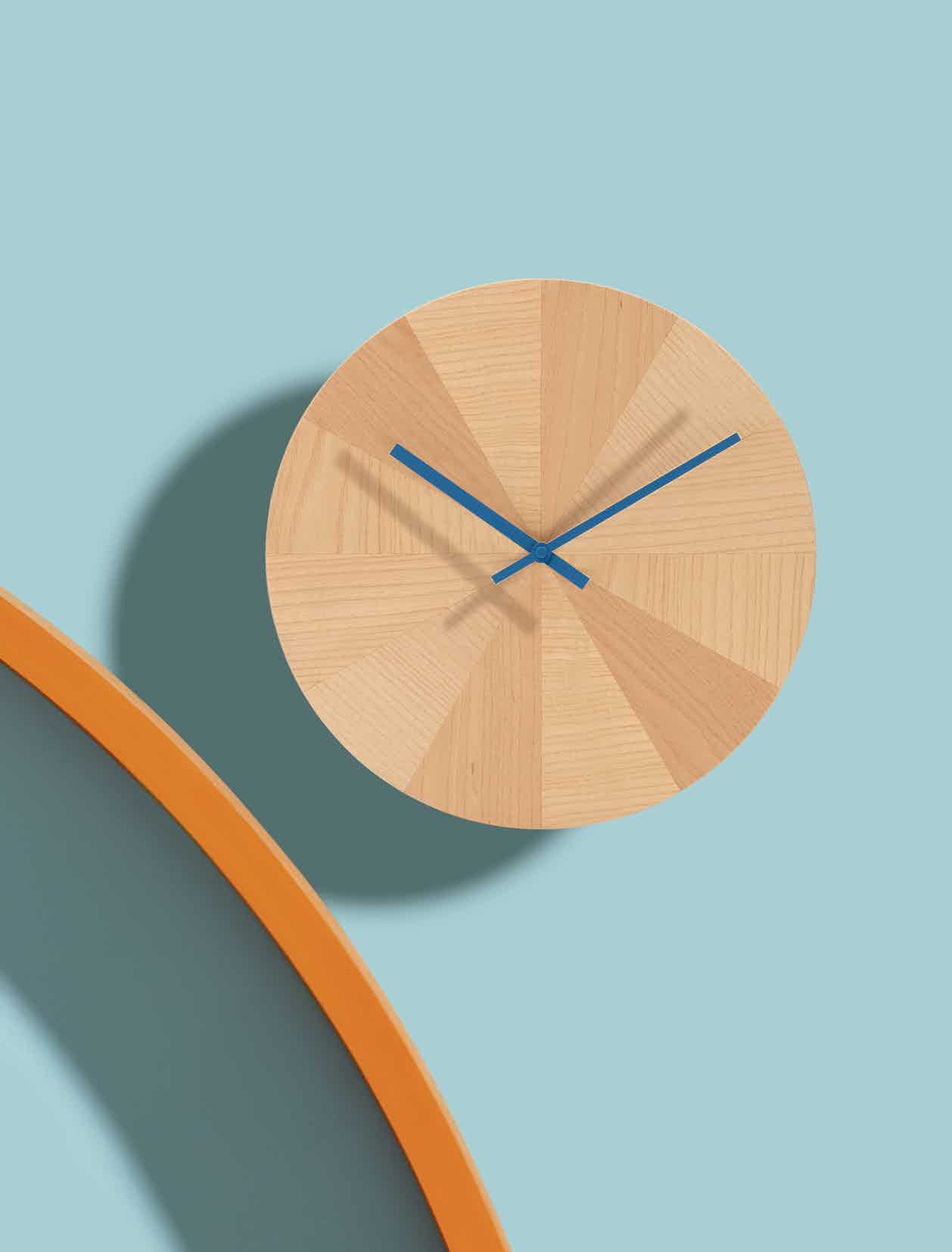 Discipline Pieces Of Time Clock Blue Hands Haute Living