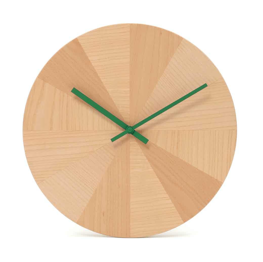 Discipline Pieces Of Time Clock Green Hands Haute Living