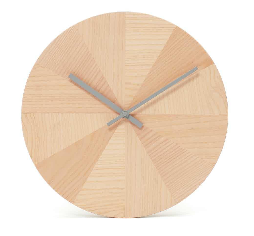 Discipline Pieces Of Time Clock Grey Hands Haite Living
