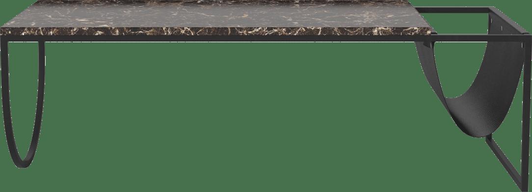 bolia piero coffee table brown marble haute living