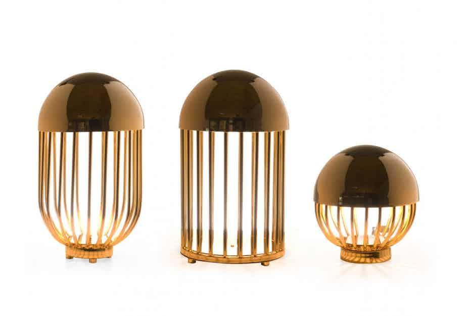 De La Espada Autoban Pill Lamp Trio Haute Living
