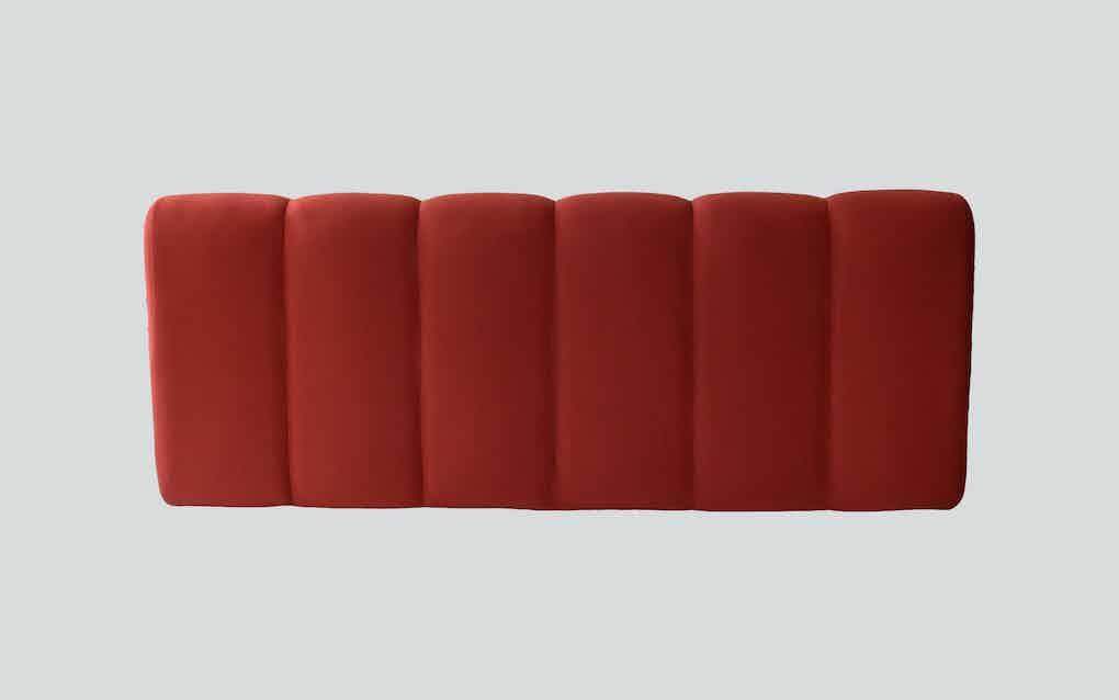 Scp furniture pillar sofa back haute living