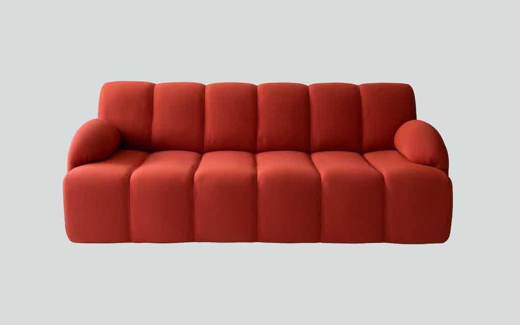 Scp furniture pillar sofa front haute living