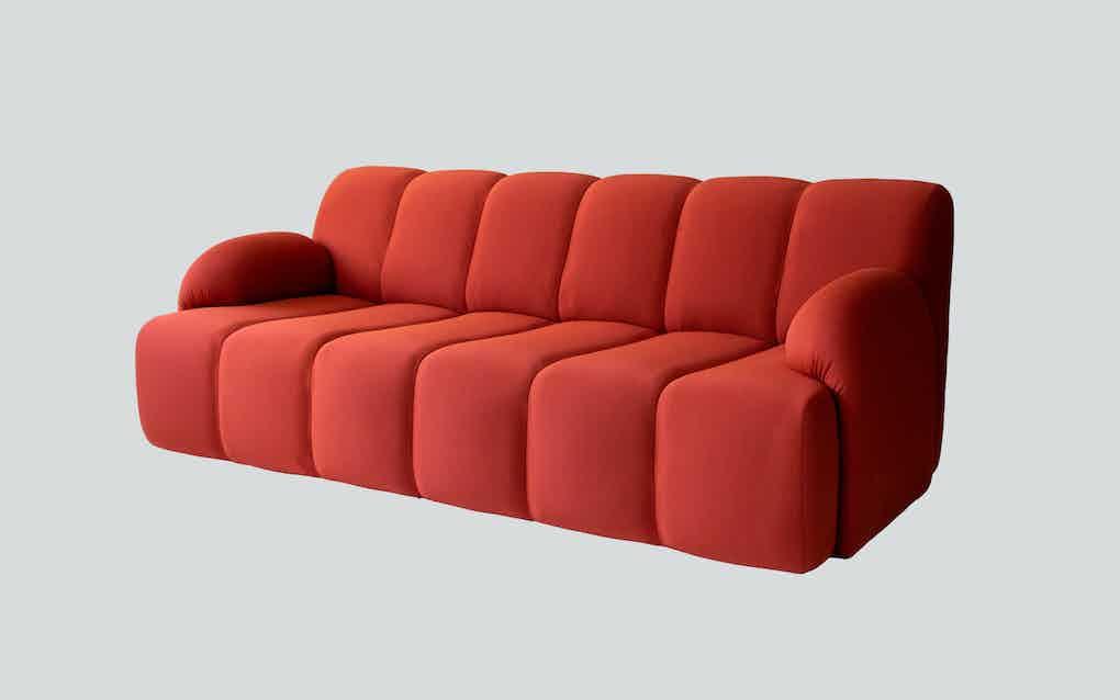Scp furniture pillar sofa haute living