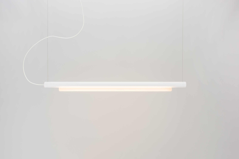 Andlight White Pipeline 125 Pendant Haute Living
