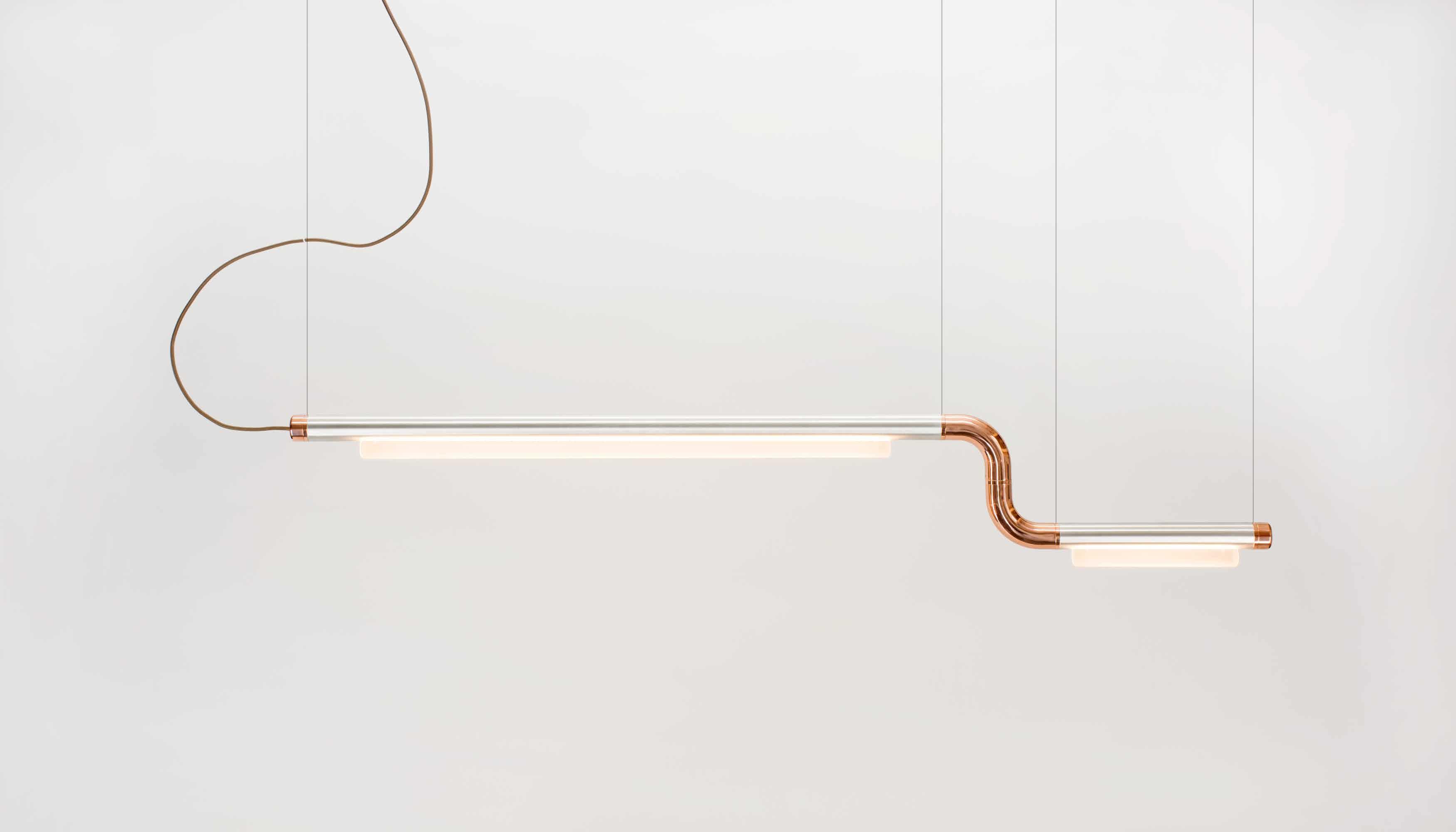 Andlight Pipeline Cm2 Copper Aluminum Haute Living
