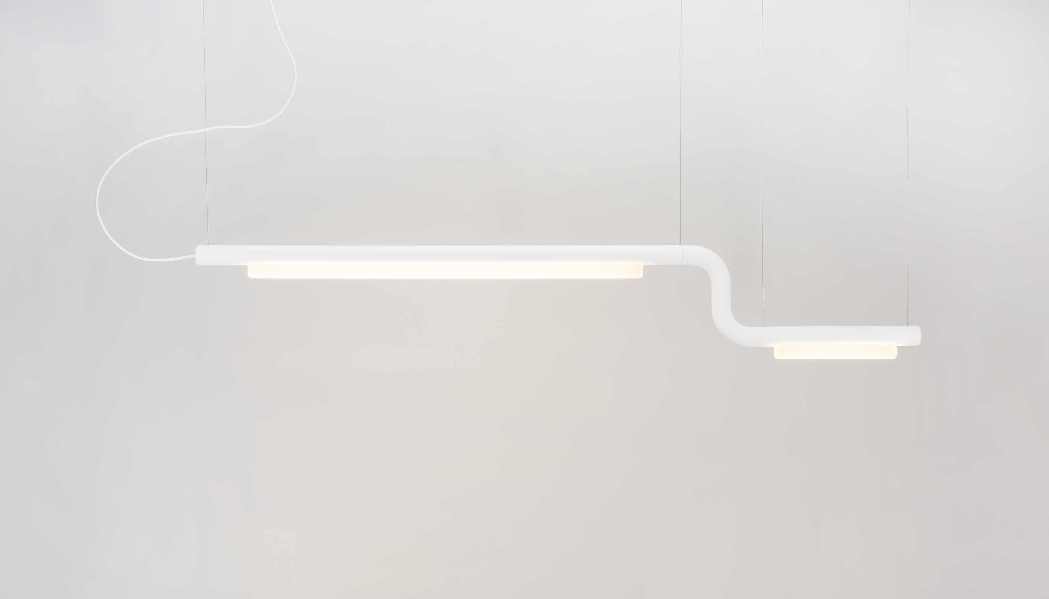 Andlight White Pipeline Cm2 Light Haute Living