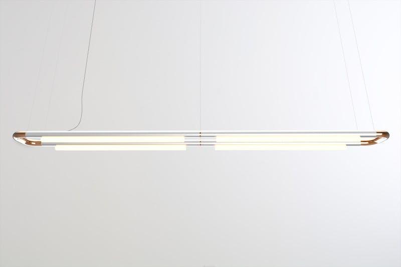 Andlight Aluminum Copper Pipeline Cm7 Haute Living