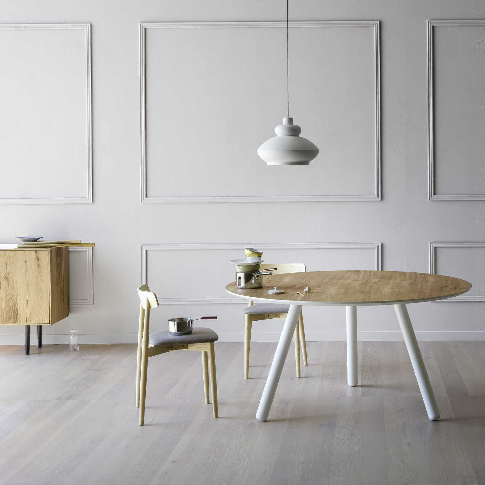Miniforms Pixie Table White Haute Living