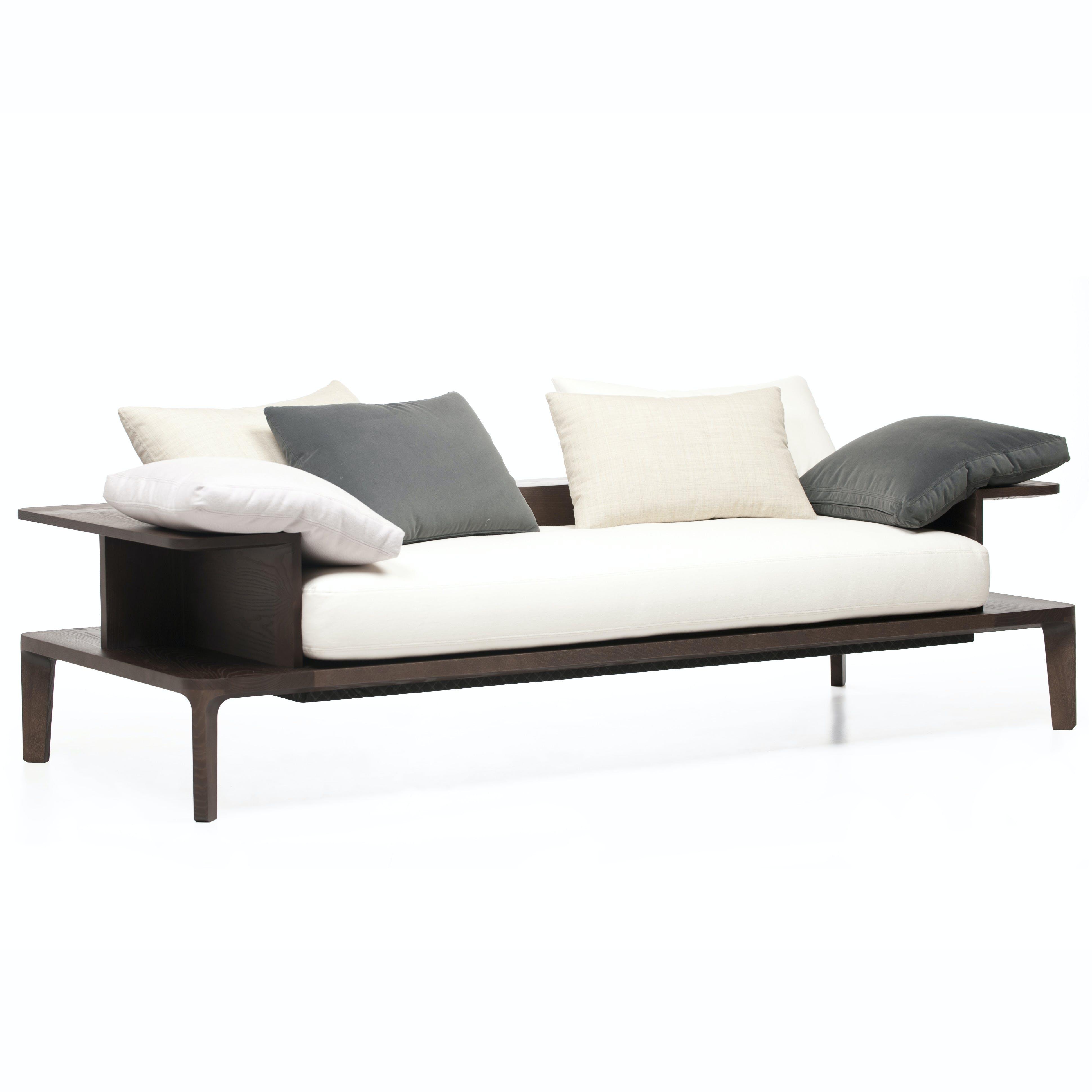 De La Espada Neri Hu Platform Sofa White Thumbnail Haute Living