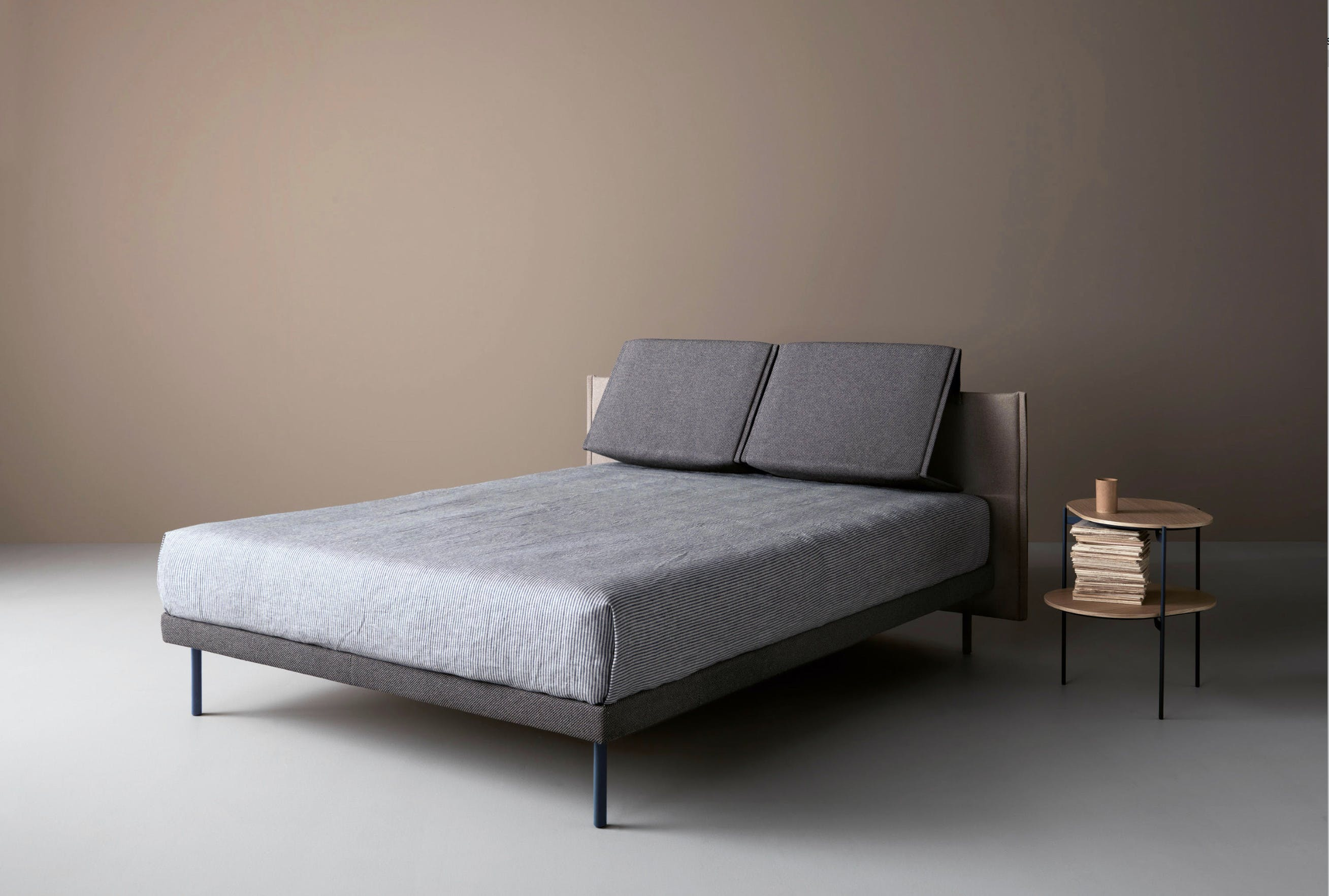 Caccaro Plie Bed Angle Haute Living