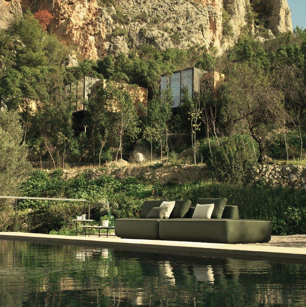 Plump Sofa Green