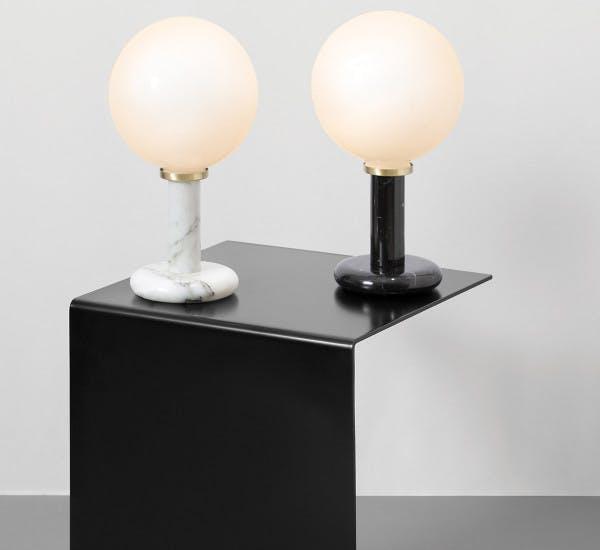 Pluto Table Lamp Contest Cto Lighting White Black 1