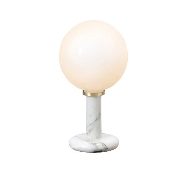 Pluto Table Lamp Cto Lighting White Carrara 1