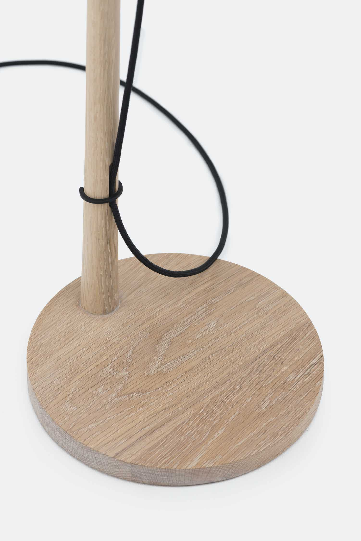 De La Espada Matthew Hilton Pole Light Stand Detail Haute Living