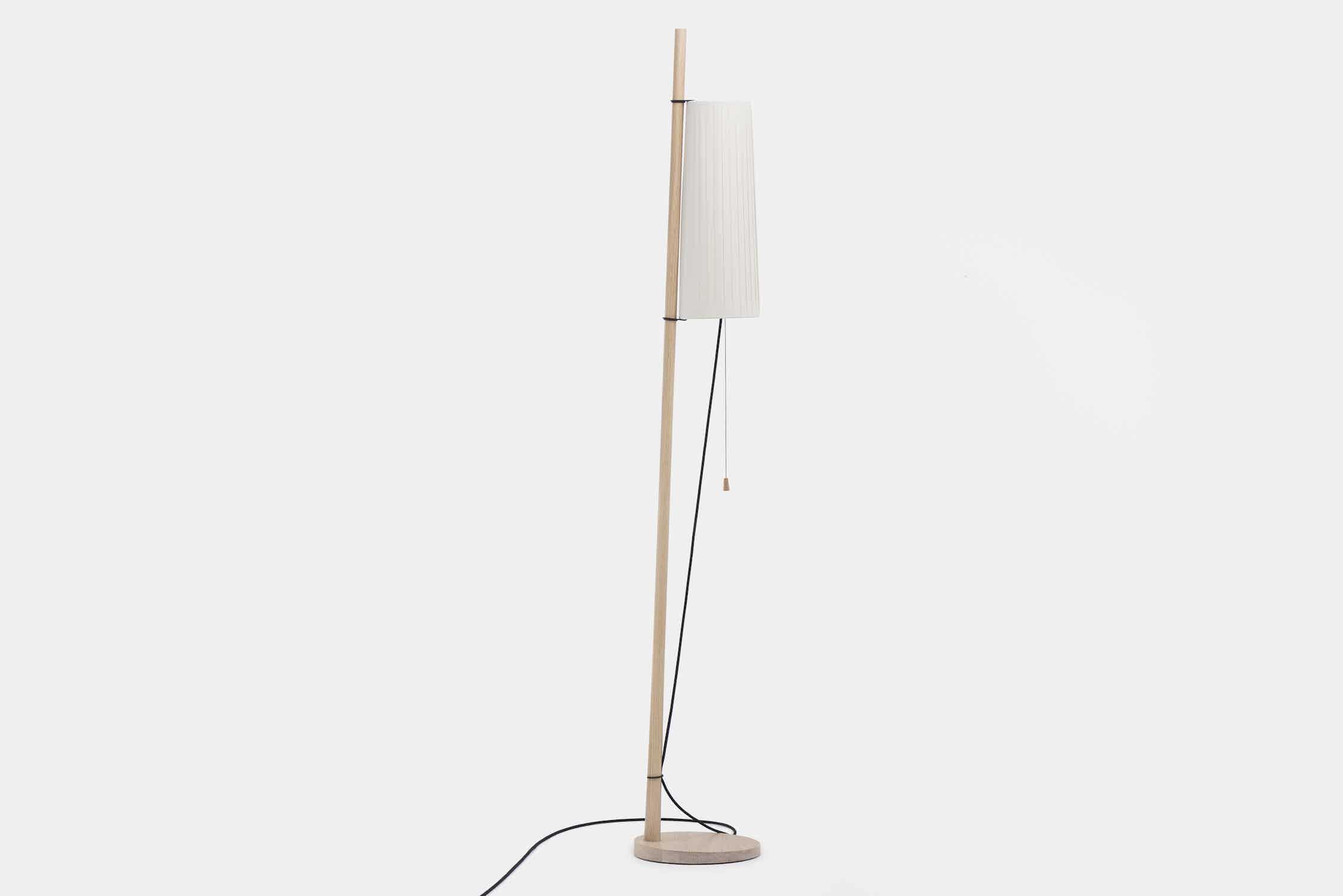 De La Espada Matthew Hilton Pole Light White Ash Haute Living