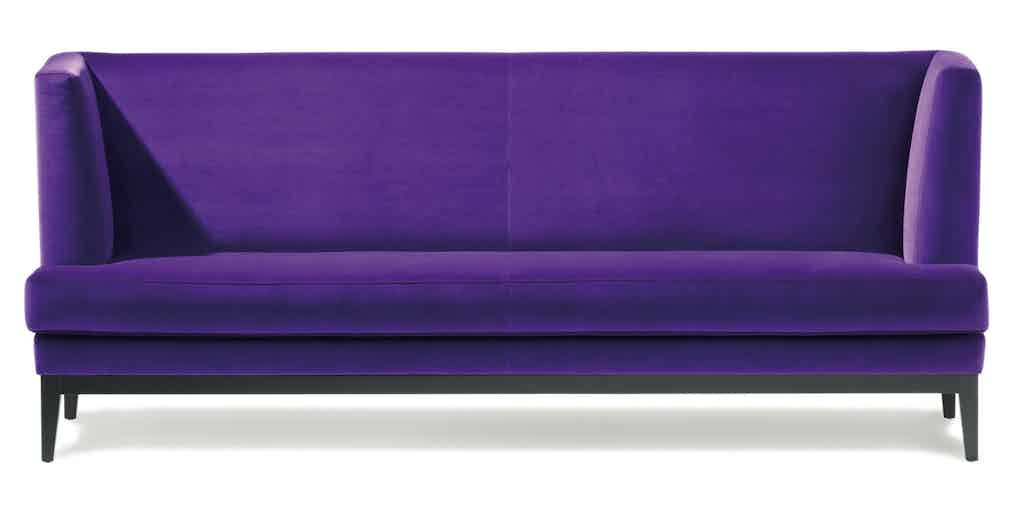 Jab Anstoetz Purple Polo Dining Sofa Haute Living