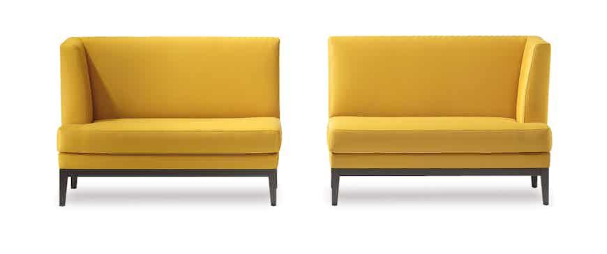 Jab Anstoetz Yellow Polo Dining Sofa Haute Living
