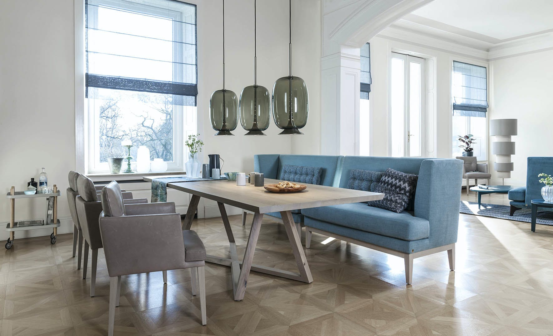 Jab Anstoetz Polo Dining Table Insitu Haute Living