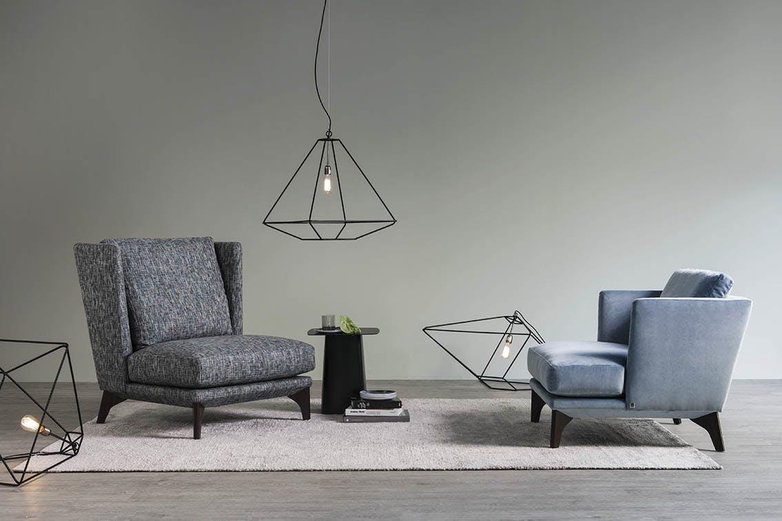 Jab Anstoetz Polo Living Armchair Insitu Duo Haute Living