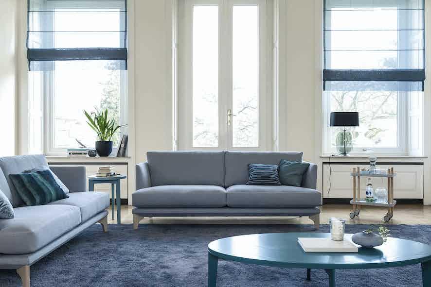 Jab Anstoetz Blue Polo Living Sofa Insitu Haute Living
