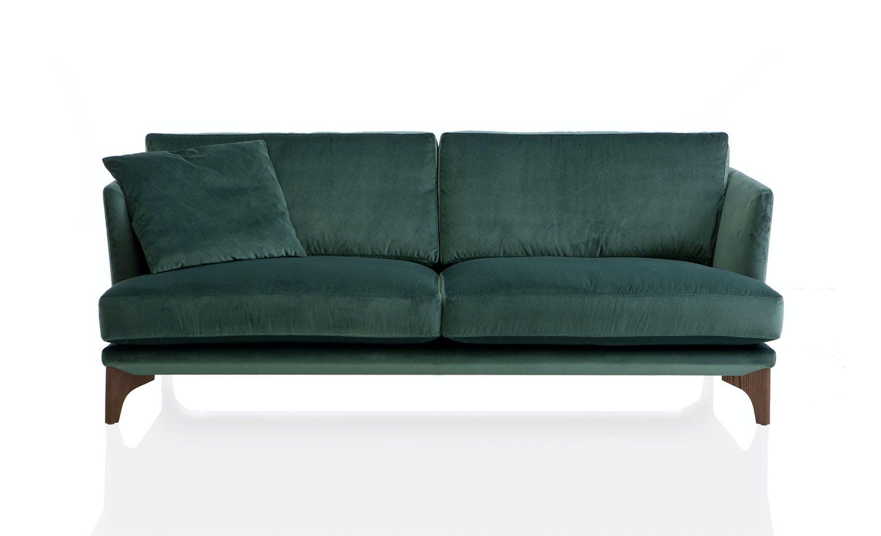 Jab Anstoetz Green Polo Living Sofa With Pillow Haute Living