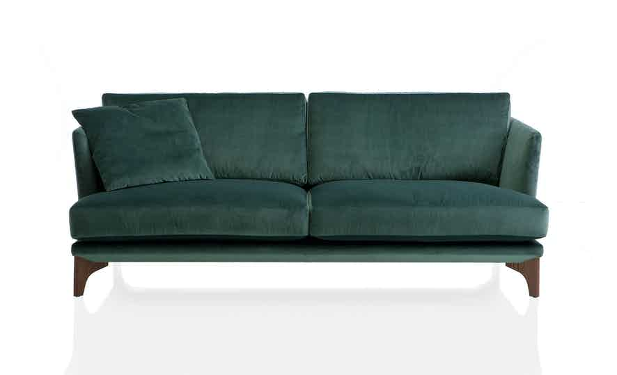 Jab Anstoetz Green Polo Living Sofa With Pillow Haute Living