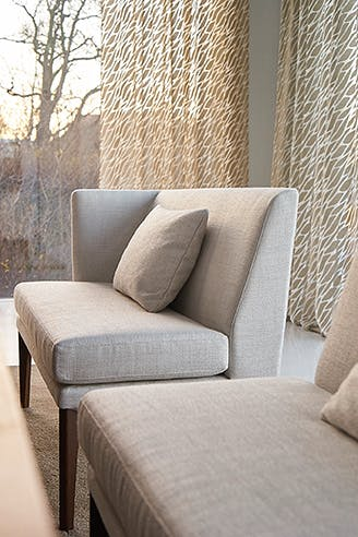 Jab Anstoetz Polo Petite Sofa Insitu Detail Side Haute Living