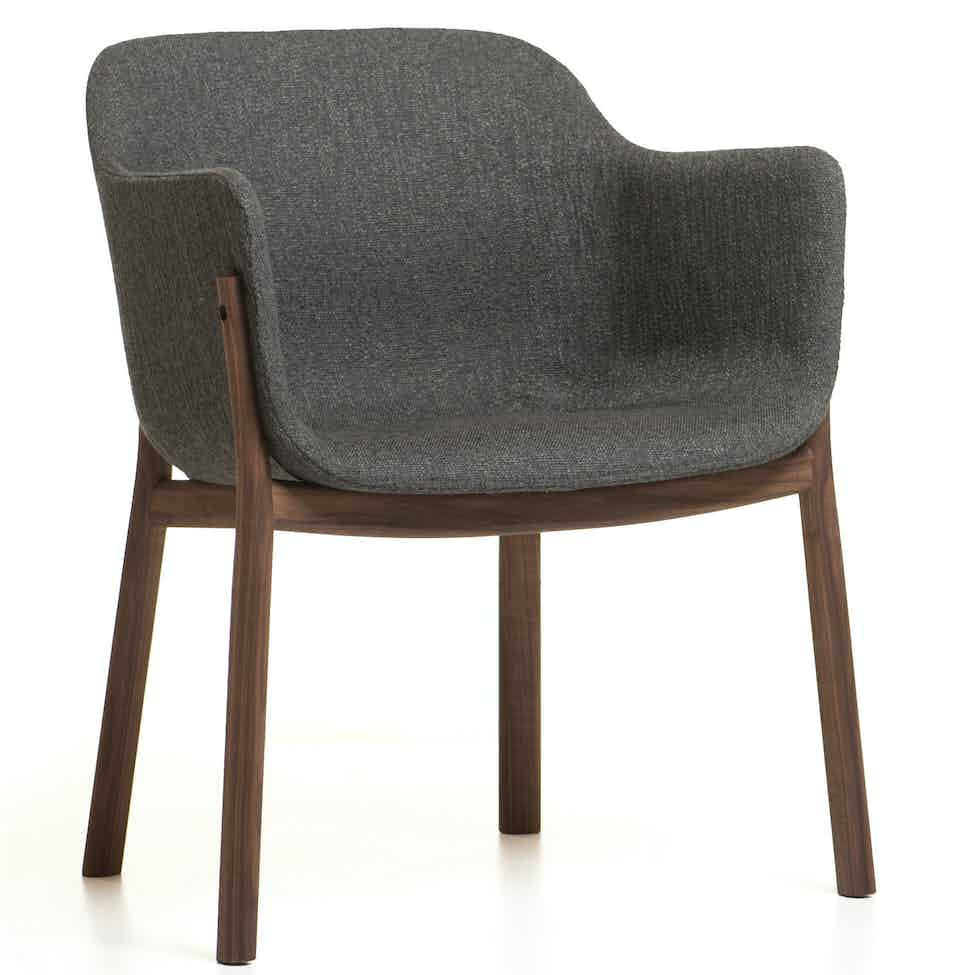 De La Espada Matthew Hilton Porto Chair Dark Gray Haute Living