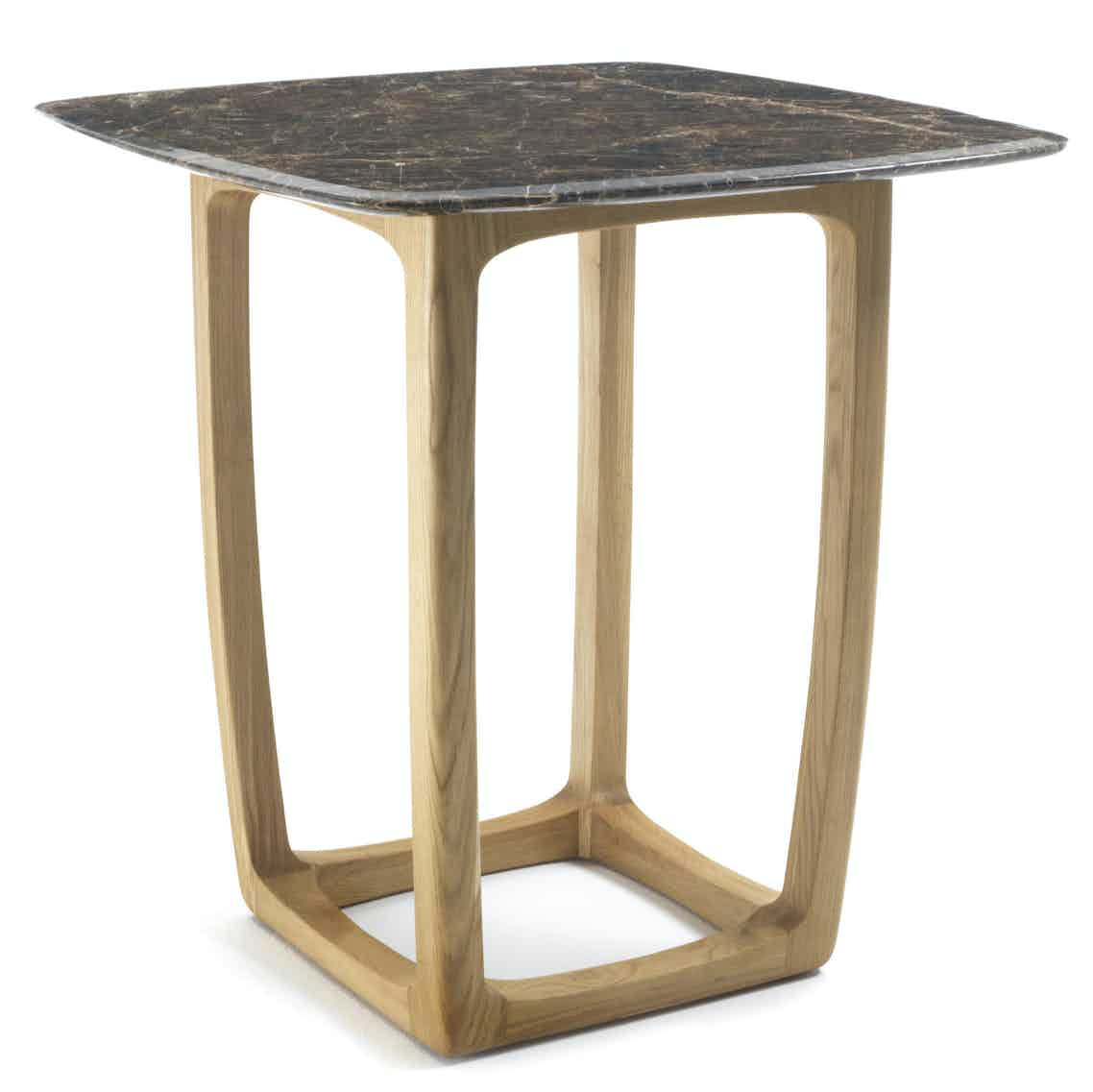 Riva 1920 bungalow bar table marble haute living