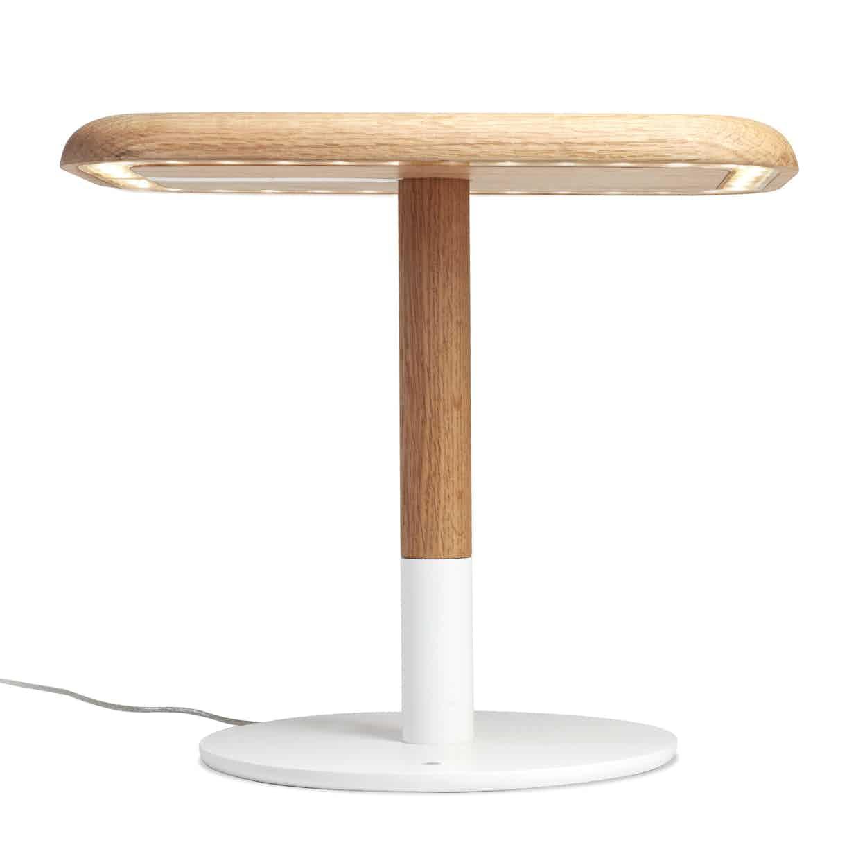 Arpel lighting woody table lamp front haute living