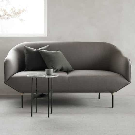 Wendelbo bale sofa grey haute living