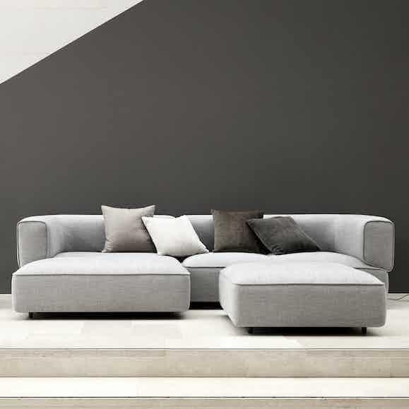 Wendelbo poff sofa haute living