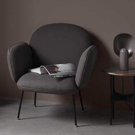 Wendelbo ollie lounge chair haute living