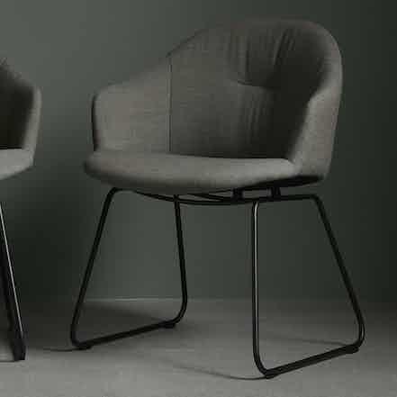 Wendelbo versu chair green haute living