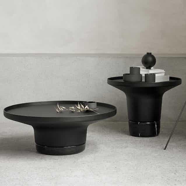 Wendelbo poller table duo haute living
