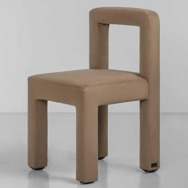 Faina furniture toptun chair beige haute living