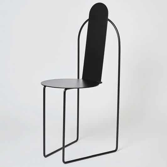 Matter made pudica chair black haute living