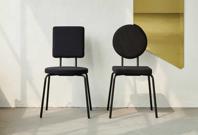 Puik design option chair black insitu duo haute living
