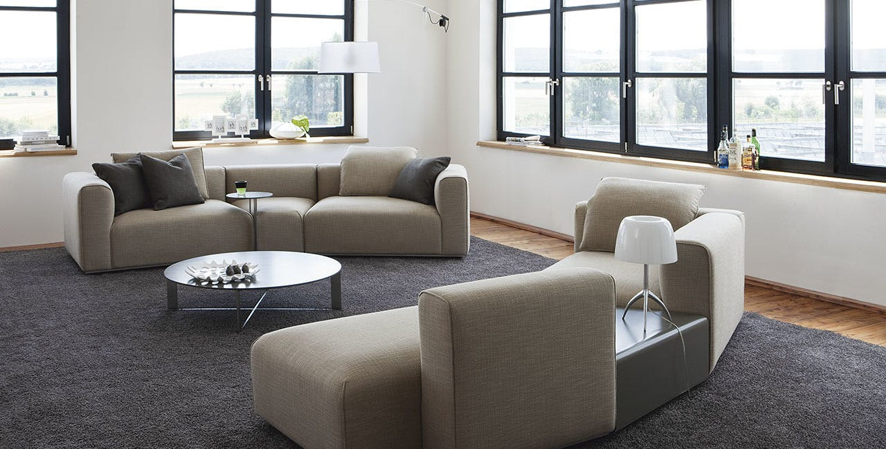 Jab Anstoetz Pure Elements Modular Sofa Duo Insitu Haute Living