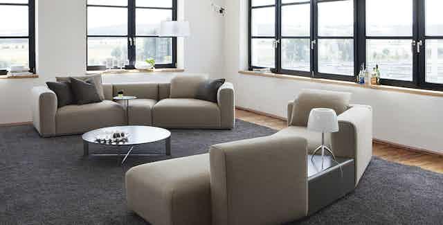 Jab Anstoetz Pure Elements Modular Sofa Duo Insitu Haute Living