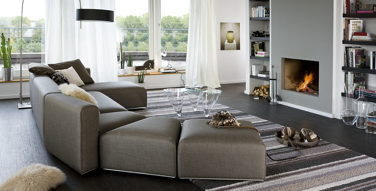 Jab Anstoetz Pure Elements Modular Sofa Insitu Haute Living