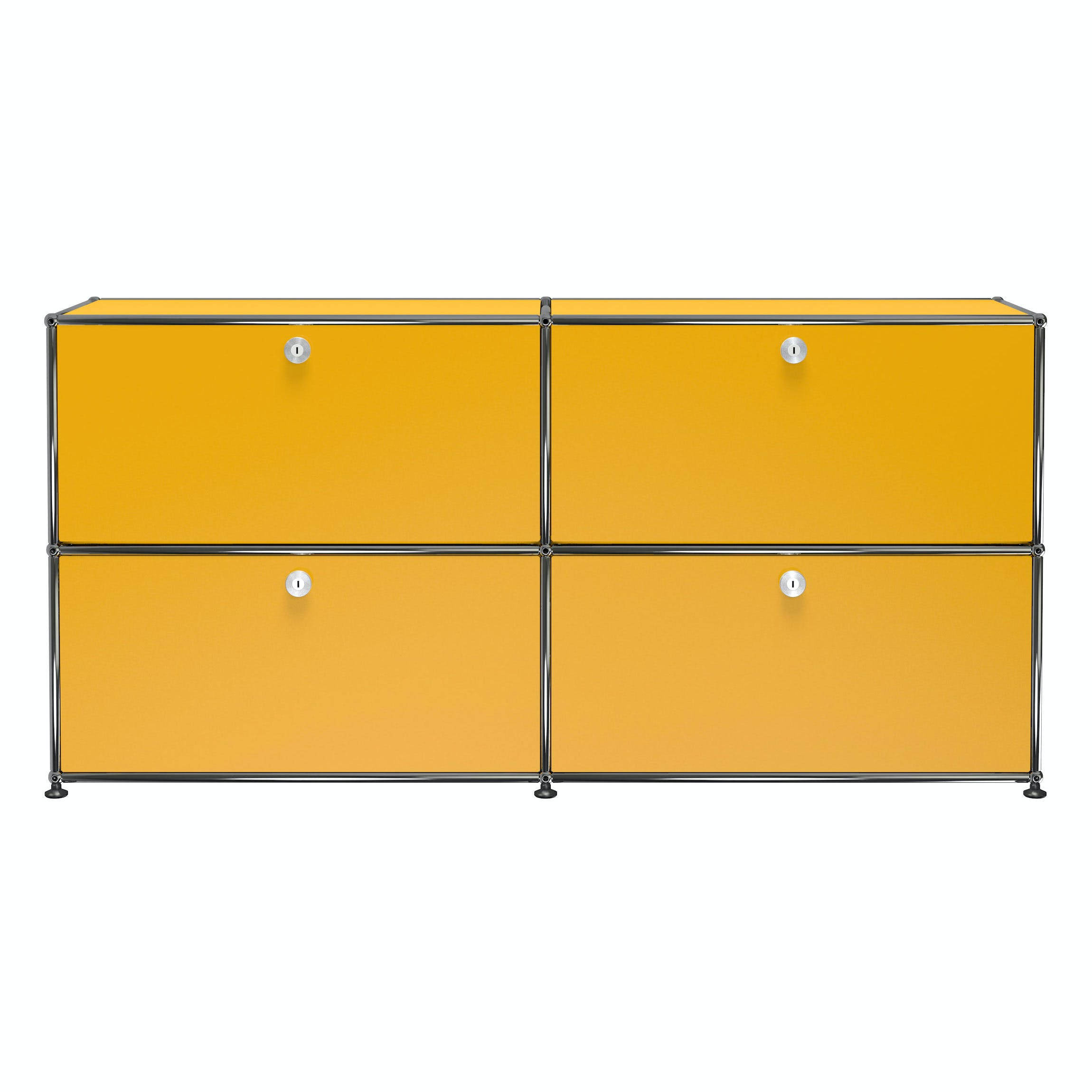Usm-quick-ship-Haller-Modern-Credenza-E2F-yellow-haute-living
